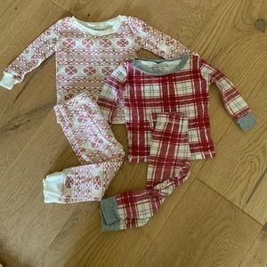 Burts bees set of two pajamas - size 12 months